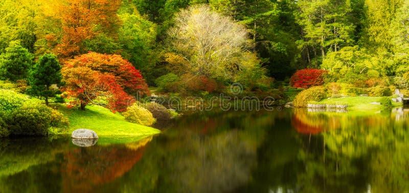 Ogród Botaniczny w północnego wschodu schronieniu, Maine obrazy stock