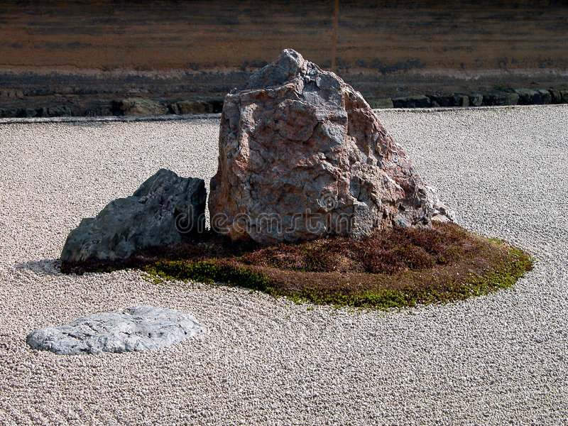 ogród danego zen. fotografia royalty free