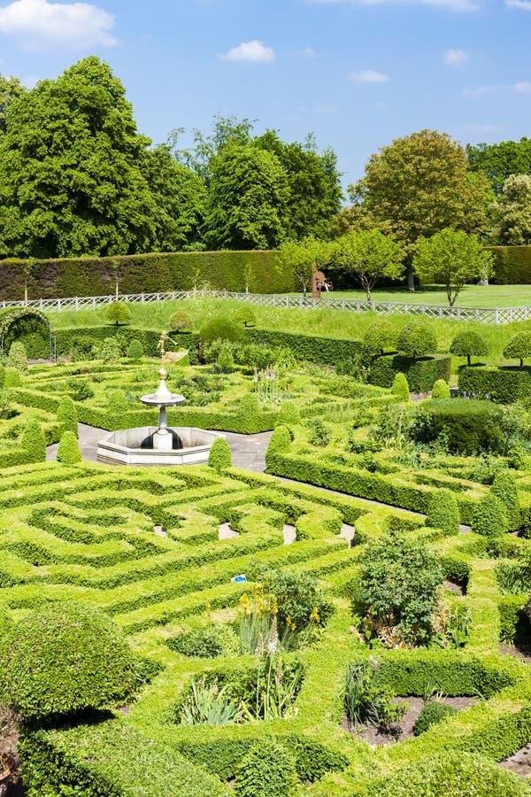 Ogród Hatfield dom zdjęcia royalty free