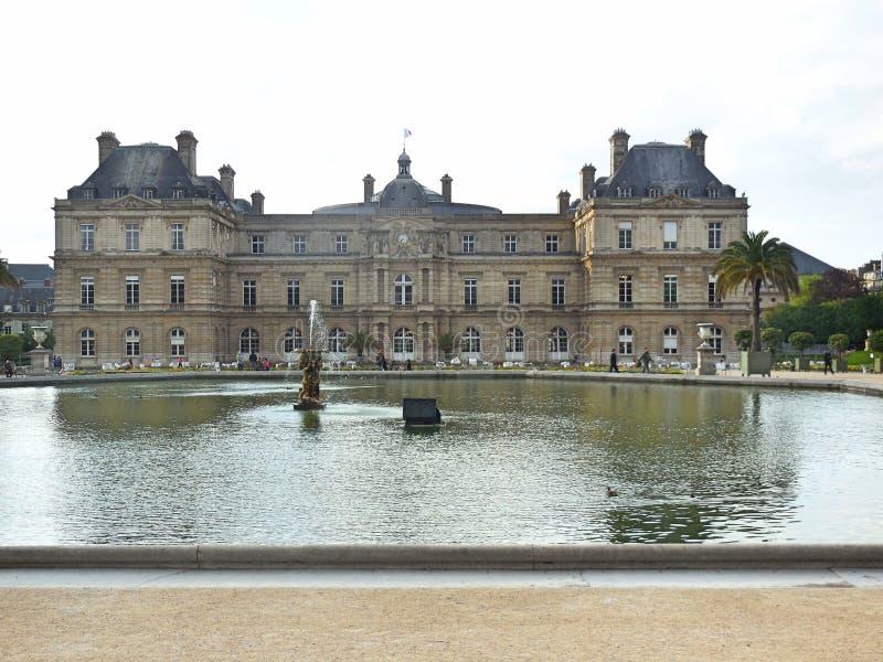 Ogród Luksemburg obraz royalty free