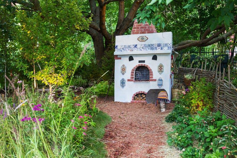 Ogród Olga Onofriychuk na Moskwa i Andrey fotografia stock