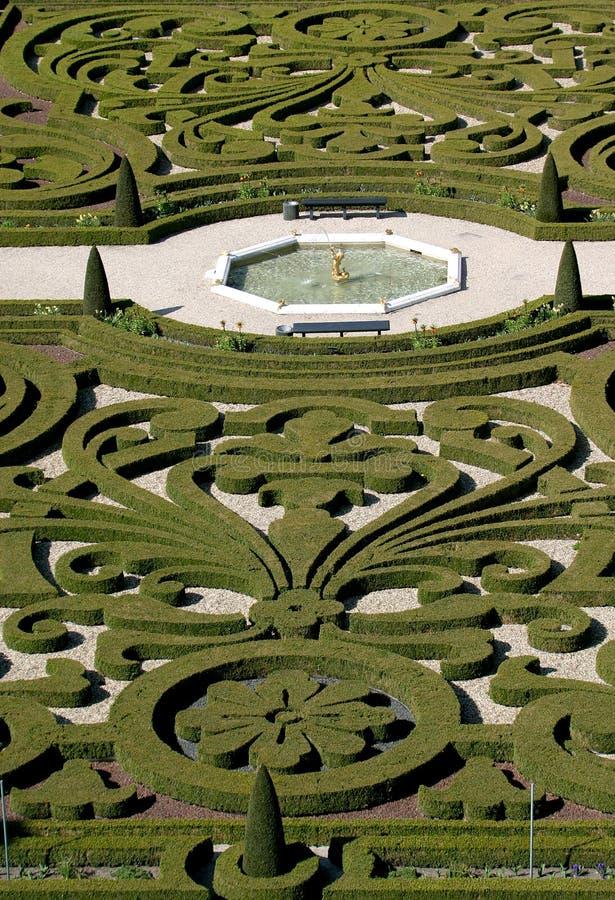 ogród pałacu kibla t obrazy stock