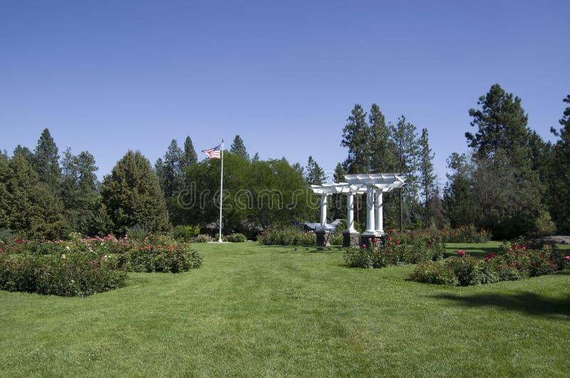 Ogród różany Spokane fotografia royalty free