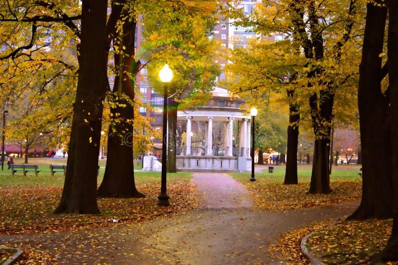 ogród społeczeństwa bostonu obrazy royalty free