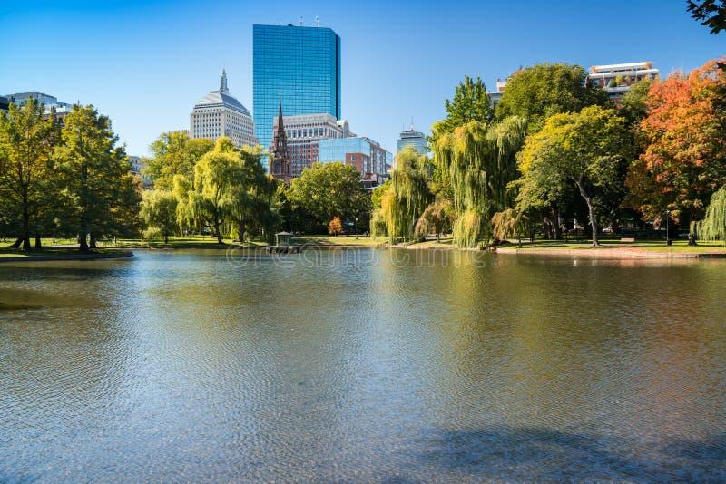ogród społeczeństwa bostonu obraz stock