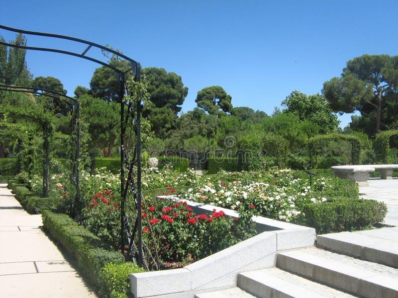 Ogród w Madryt fotografia royalty free