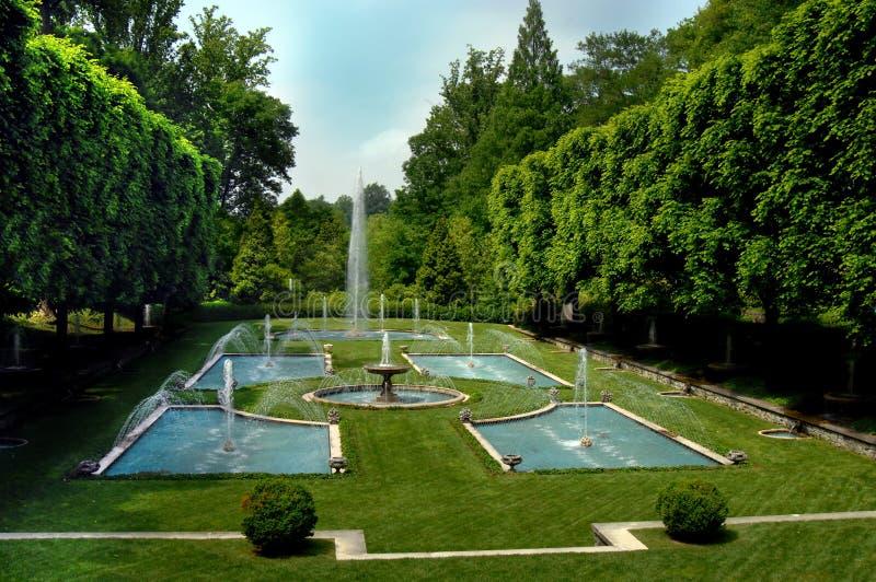 ogródu sławny longwood obraz royalty free