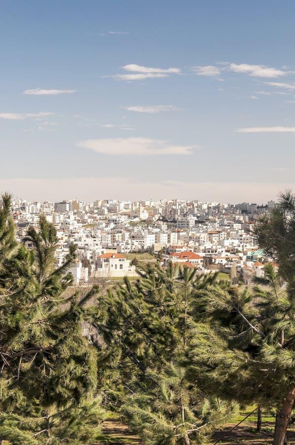 Ogródy Amman w Jordania obrazy stock
