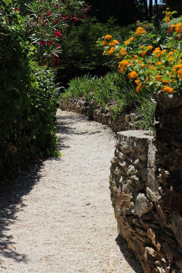 Ogródy w Hyéres fotografia stock