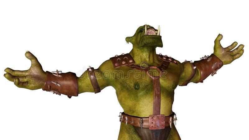 Download Ogre - war is calling stock illustration. Image of hell - 15540662