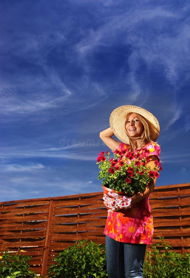 ogrodnictwa lato fotografia stock