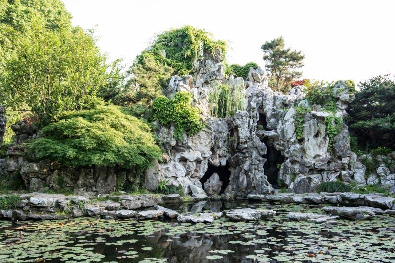 Ogrodnictwa rockery obrazy royalty free
