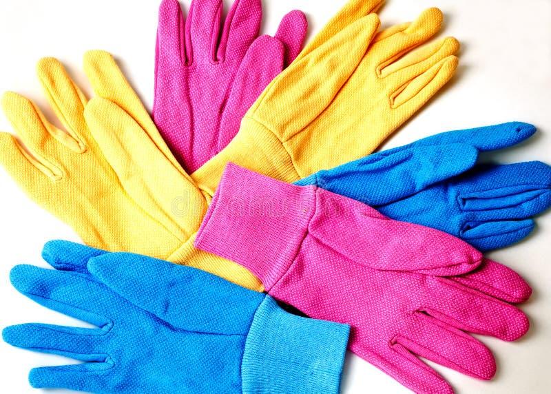 Ogrodnictwo rękawiczki fotografia royalty free