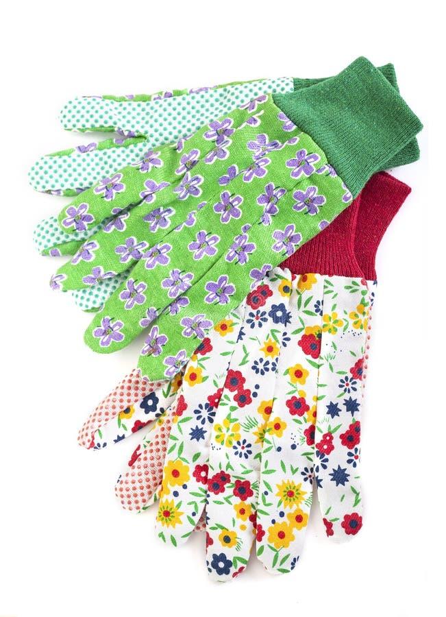 Ogrodnictwo rękawiczki zdjęcia stock