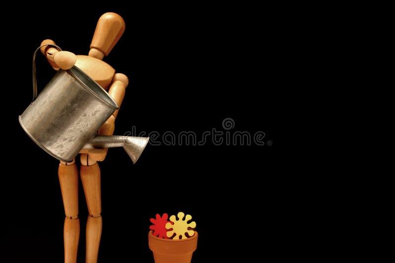 Download Ogrodnicy manekina zdjęcie stock. Obraz złożonej z mannequin - 144938