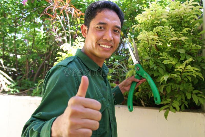 ogrodnik zdjęcia stock
