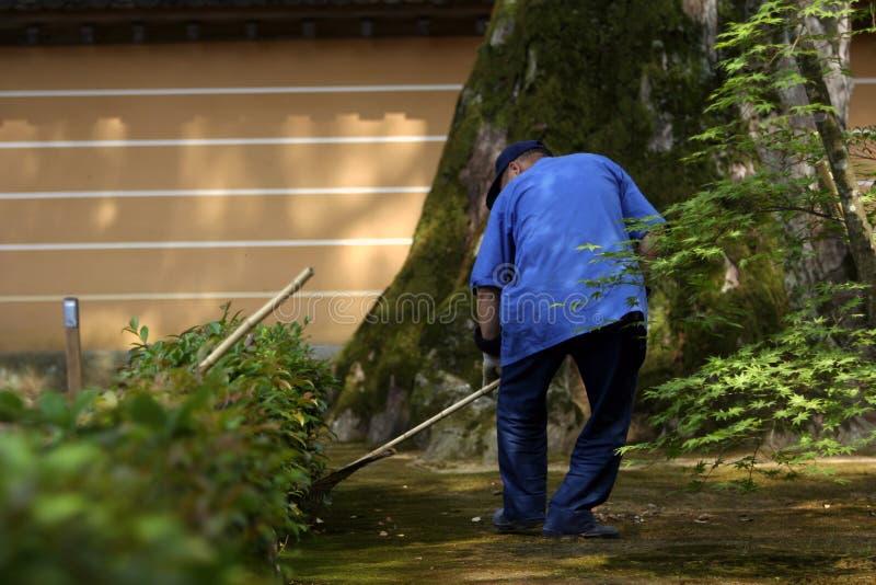ogrodnik zdjęcie stock