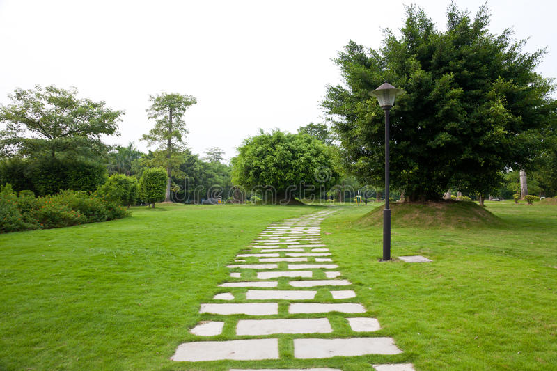 ogrodowa ścieżka fotografia stock