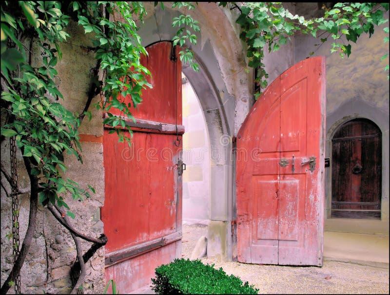 ogrodowa brama obraz stock