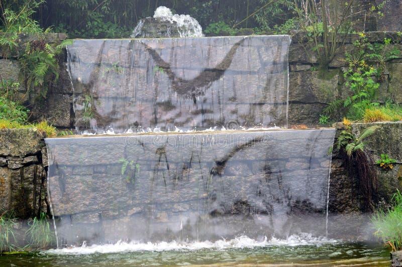 ogrodowa siklawa obrazy stock