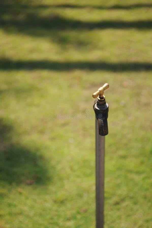 ogrodowa woda kranowa obraz stock