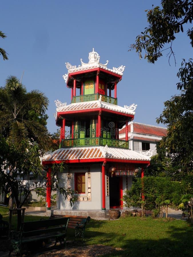 Ogrodowe parkowe fotografie w Bangkok, Tajlandia Tam są wiele ciekawi miejscami Tajlandzkimi i cudzoziemskimi turystami Przychodz zdjęcia stock
