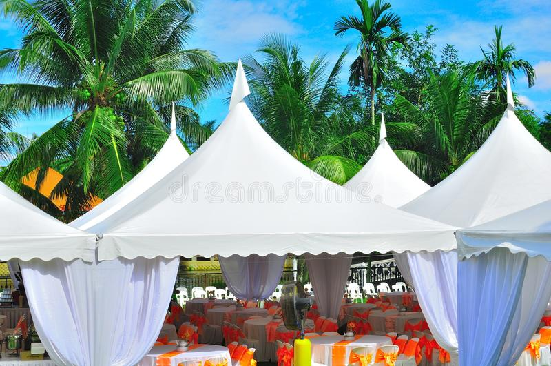 ogrodowego przyjęcia ślub obrazy stock