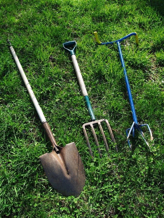ogrodowi narzędzia obrazy royalty free