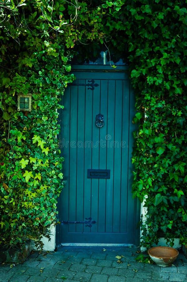 Ogrodowy Drzwi fotografia stock