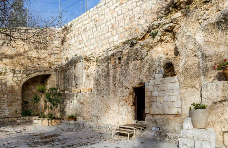 Ogrodowy grobowiec, Jerozolima obraz royalty free