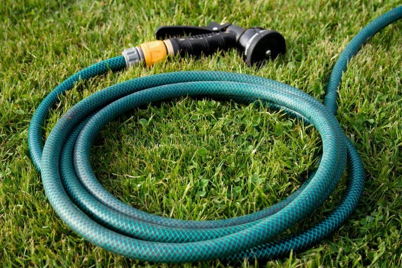 ogrodowy kierowniczy wąż elastyczny fotografia stock