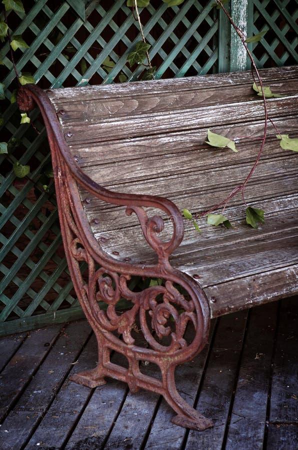 Ogrodowy krzesło fotografia stock