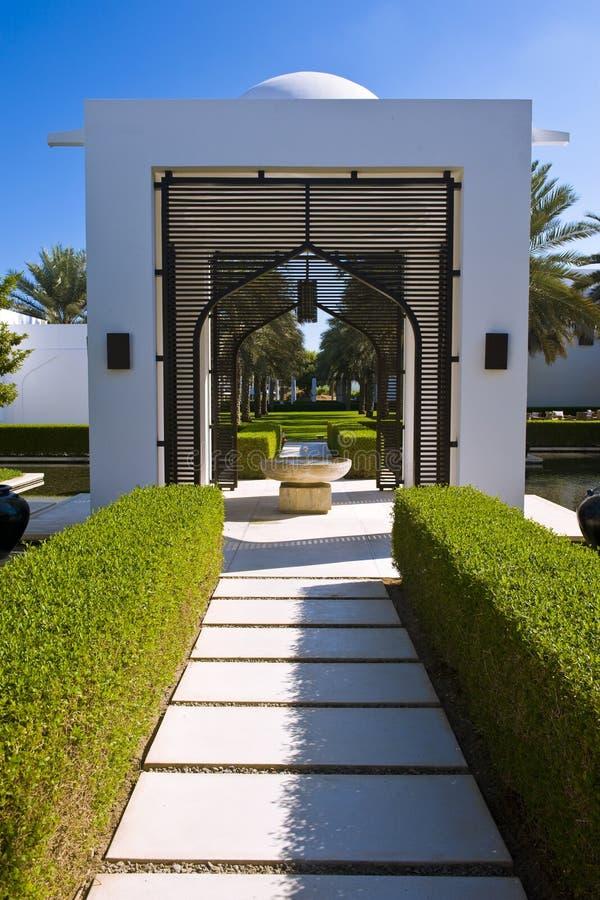 ogrodowy luksusowy zdrój obraz royalty free