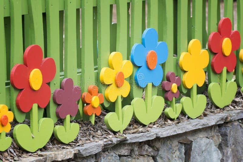 Ogrodowy ogrodzenie obraz stock