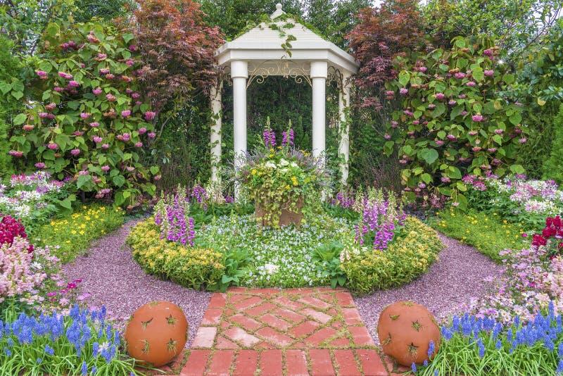 ogrodowy pawilon zdjęcie stock