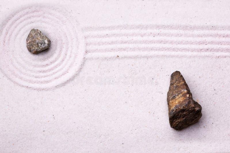 ogrodowy rockowy zen obrazy royalty free