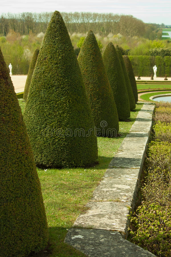 ogrodowy Versailles zdjęcie royalty free