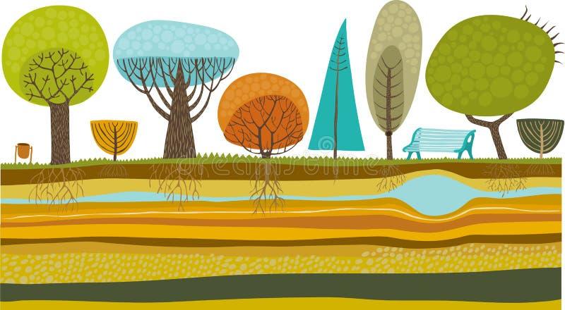 ogrodowy wektor ilustracji