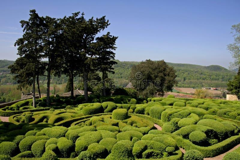 ogrody ukształtować obszaru zdjęcia stock