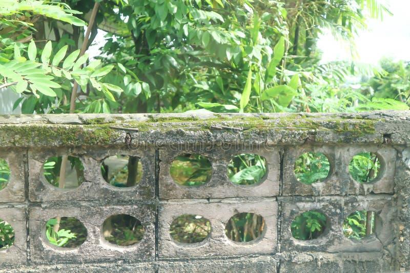 Ogrodzenie lub stary ogrodzenie obraz stock