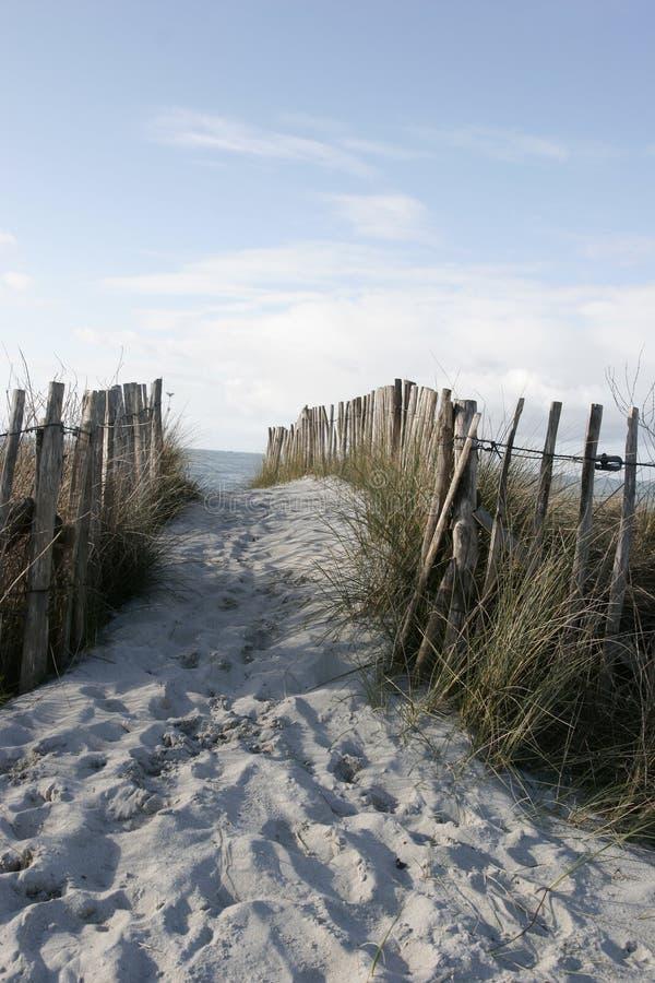 ogrodzenie plaż zdjęcia royalty free