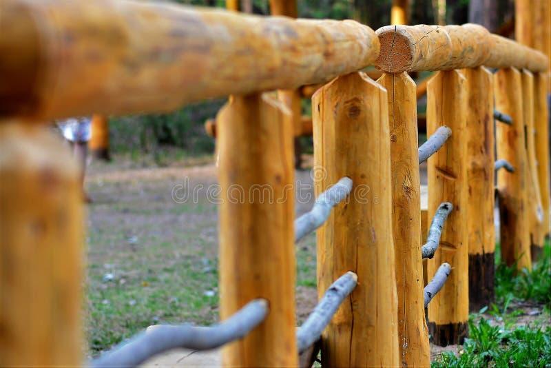 ogrodzenie tęsk drewniany fotografia stock