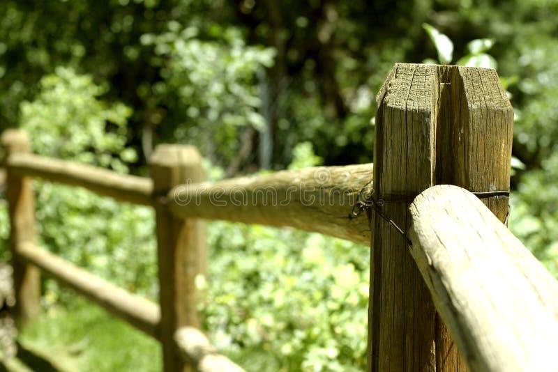 ogrodzenie z gospodarstw rolnych zdjęcie stock