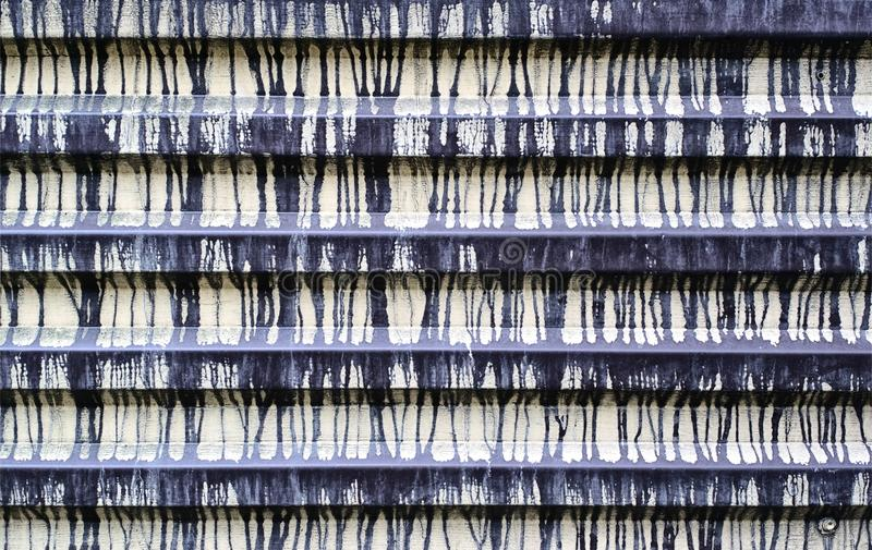 Ogrodzenie zrobi panwiowa cyna z wieloskładnikowymi plamami farba struktura grunge zdjęcia royalty free