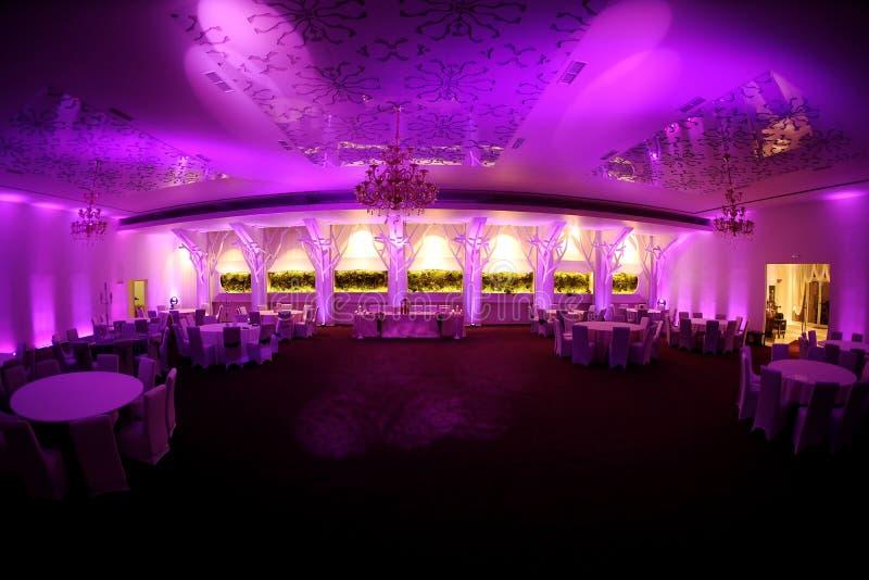 Ogromna sala balowa zdjęcie royalty free