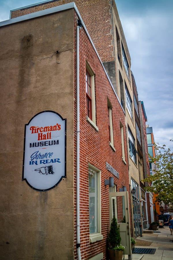 Ogromny muzeum promuje bezpieczeństwo publiczne w Pennsylwania, Filadelfia obraz stock