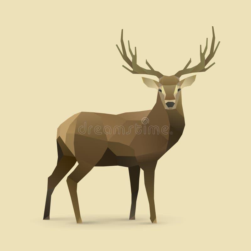 Oh cervos ilustração royalty free