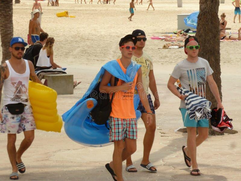 Oh, dit Majorca!! Zij is mooi voor iedereen voor jongelui en niet zo stock afbeeldingen