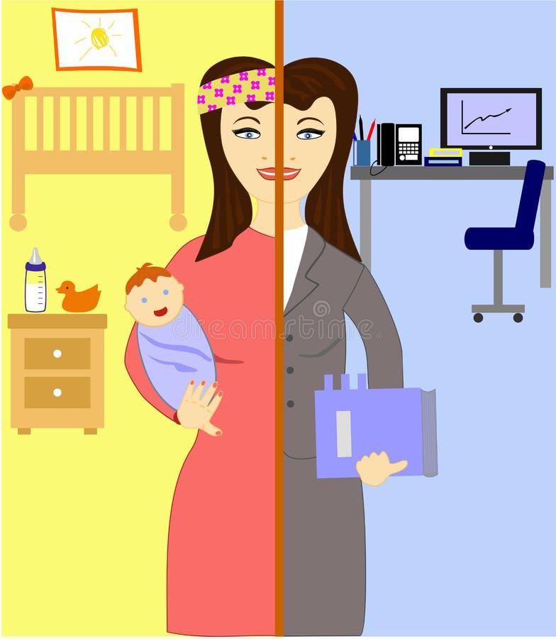 Oh, kobiety! royalty ilustracja