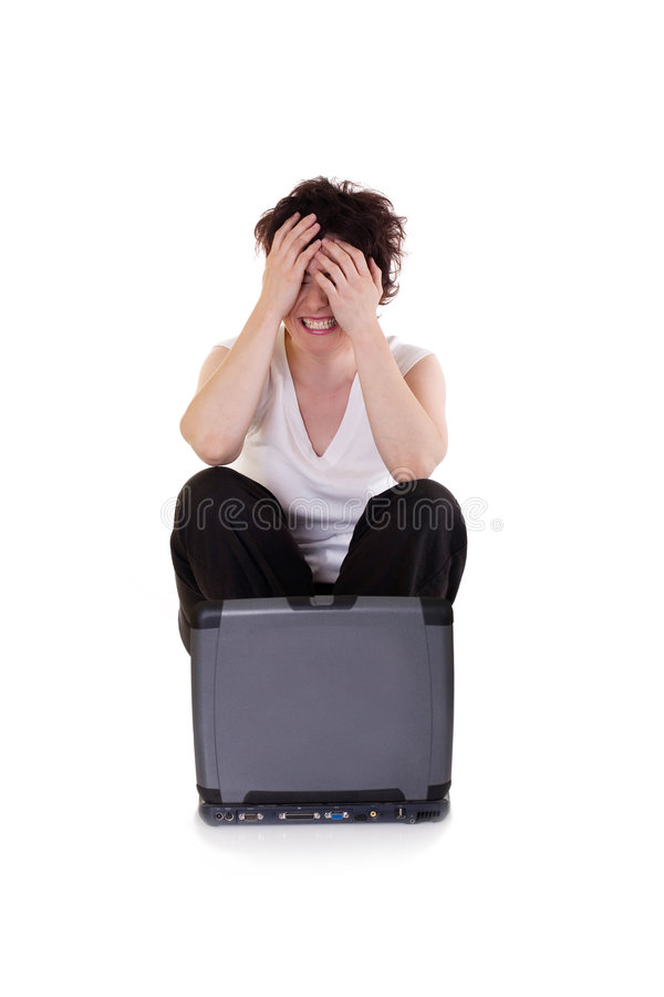 Download Oh, no! stock photo. Image of facial, irritation, emotional - 3047566